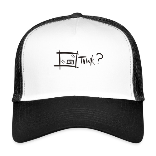 Think Outside The Box - Trucker Cap