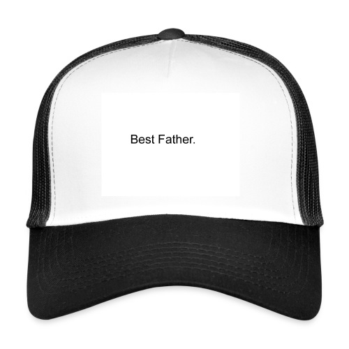 best father - Trucker Cap