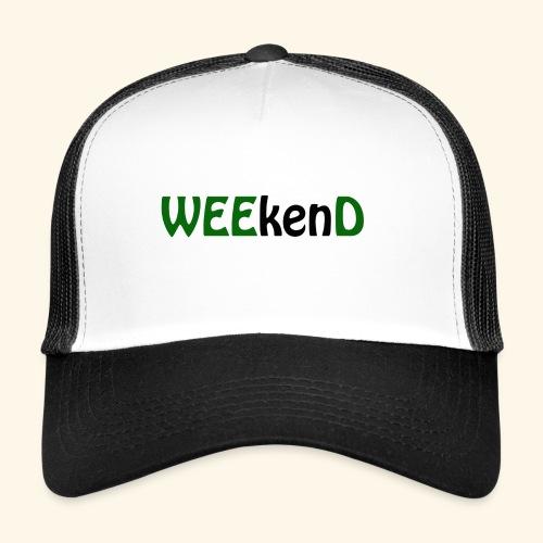 weed - Trucker Cap