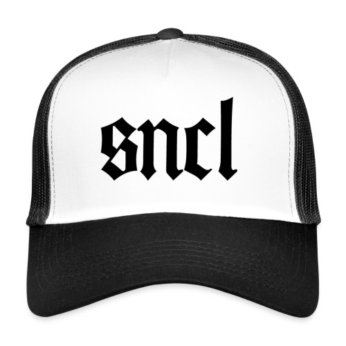 SNCL Retro Schwarz - Trucker Cap