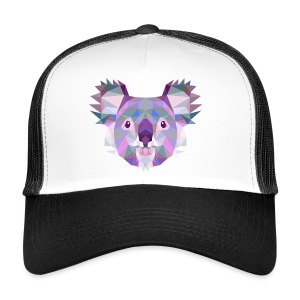 Triangle vector koala - Trucker Cap
