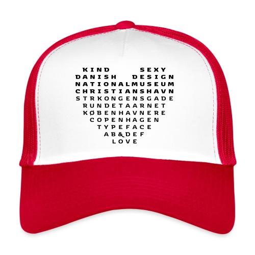 Copenhagen Heart - Trucker Cap