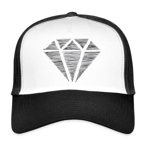 Diamante - Gorra de camionero