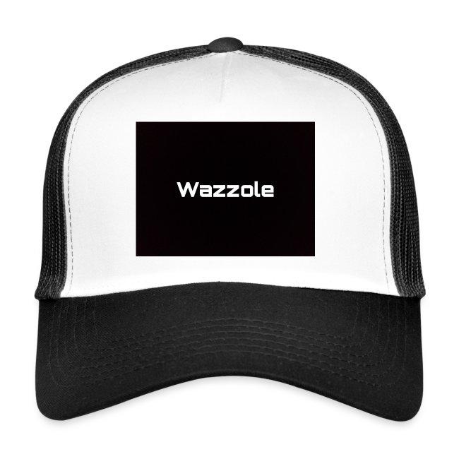 Wazzole plain blk back