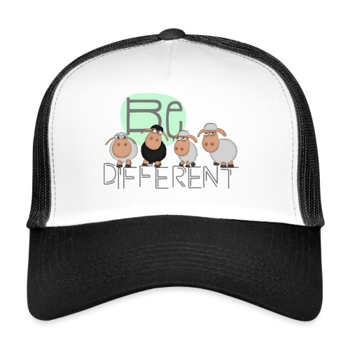 Be different: Besondere Schafe - lustiges Schaf - Trucker Cap