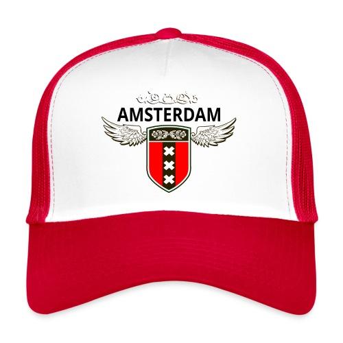 Amsterdam Netherlands - Trucker Cap