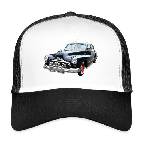 Classic Car. Buick zwart. - Trucker Cap
