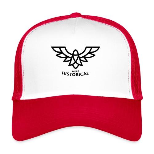 Text & Logo - Trucker Cap