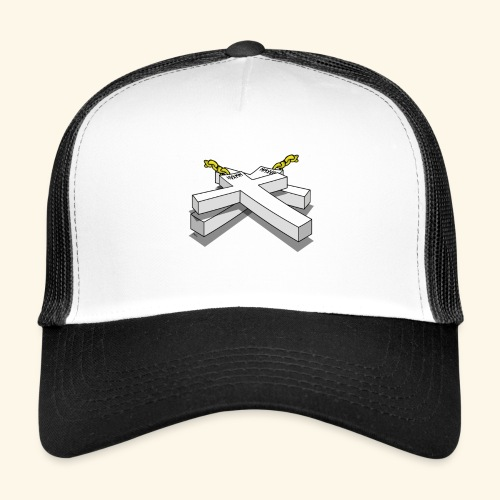 Gold Crosses - Trucker Cap