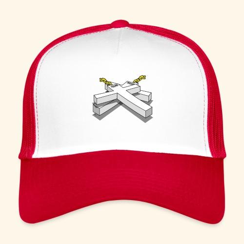 Gold Crosses - Trucker Cap