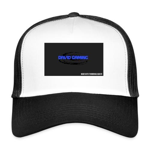 Schwarzes logo4 - Trucker Cap