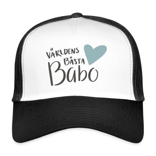Världens bästa Babo - Trucker Cap