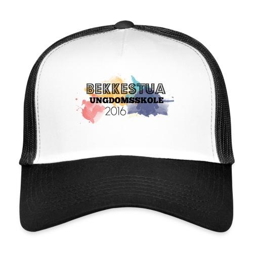 Premium langermet T-skjorte for kvinner - Trucker Cap