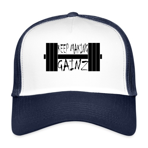 Weight + Text - Trucker Cap