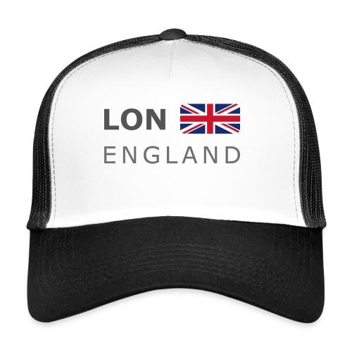 LON ENGLAND BF dark-lettered 400 dpi - Trucker Cap