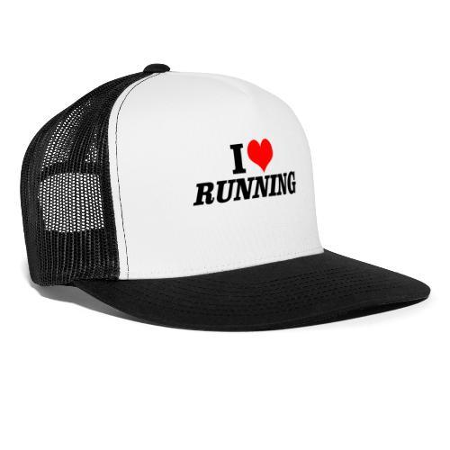 I love running - Trucker Cap