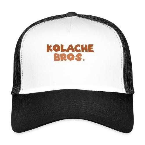 Kolache Bros. Logo Cap - Trucker Cap