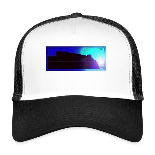 Silhouette of Edinburgh Castle - Trucker Cap