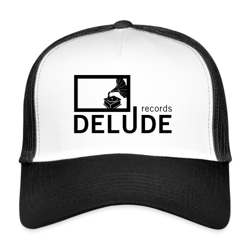Delude Records Label Logo - Trucker Cap