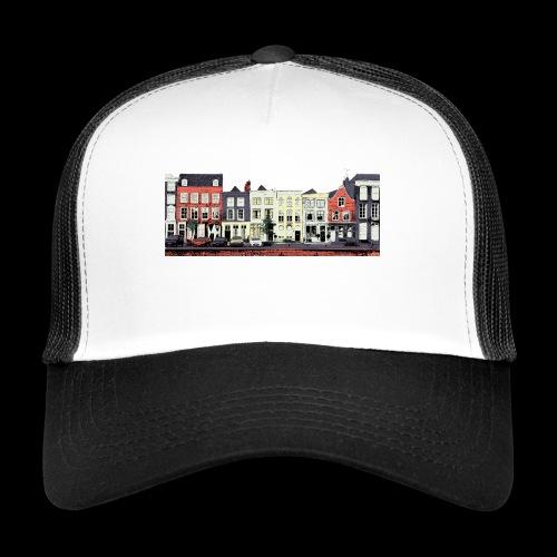 Pretty Dutch town houses - Trucker Cap