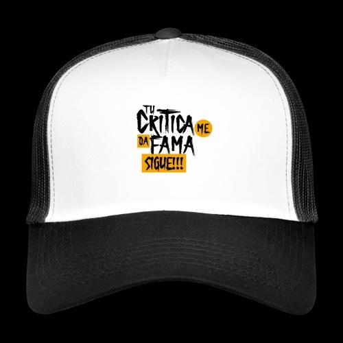 CRITICA - Gorra de camionero