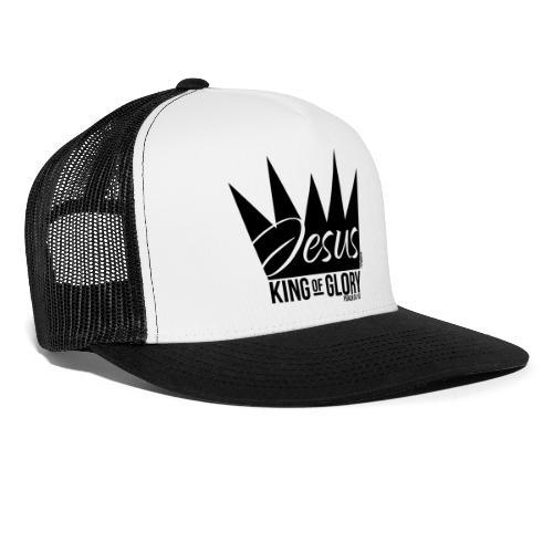 JESUS KING OF GLORY // Psalm 24:10 (BLACK) - Trucker Cap