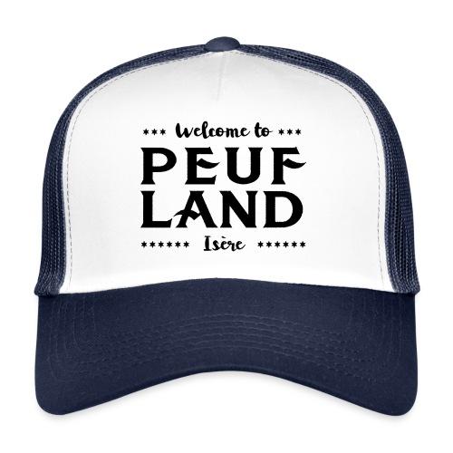 Peuf Land 38 - Isère - Black - Trucker Cap