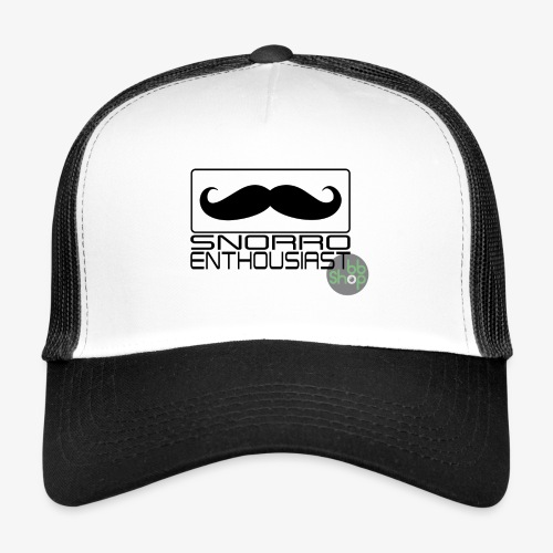 Snorro enthusiastic (black) - Trucker Cap