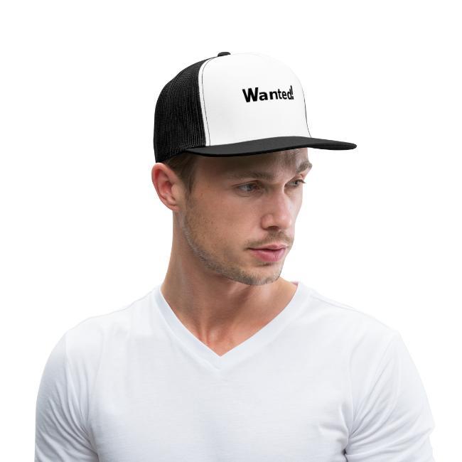 Wanted. schwarz