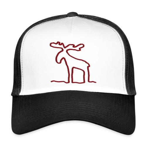 Linien-Elch - Trucker Cap