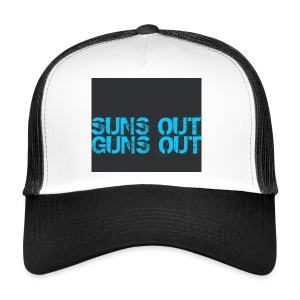 Felpa suns out guns out - Trucker Cap