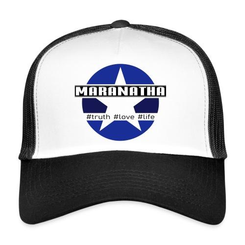 maranatha blau-braun - Trucker Cap