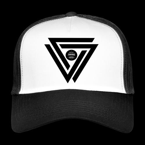 07logo complet black - Trucker Cap