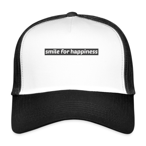 smile for happiness - Trucker Cap