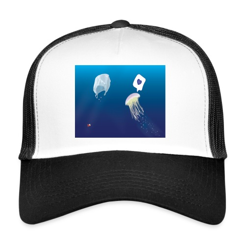 Meduse in Love - Trucker Cap