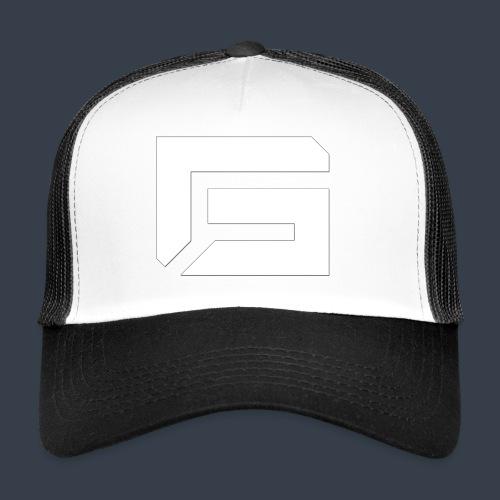 G Logo White - Trucker Cap