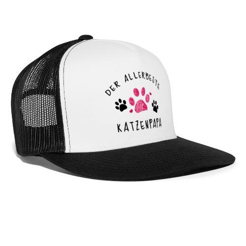 Der allerbeste Katzenpapa - Trucker Cap