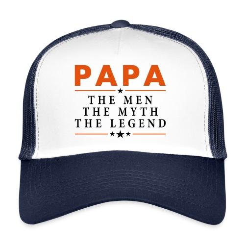 PAPA THE LEGEND - Trucker Cap