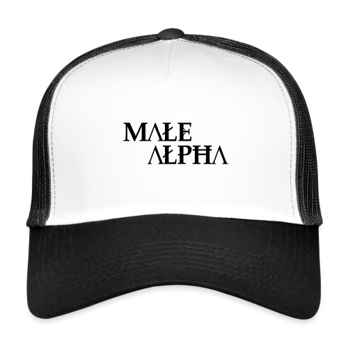 male alpha - Trucker Cap