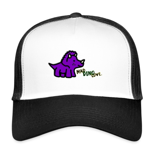 Trixie Mad Dino Love png - Trucker Cap