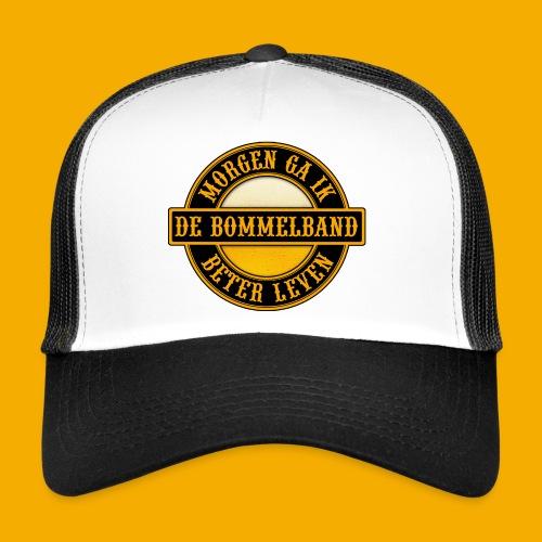 Logo Zwart Geel 2 - Trucker Cap