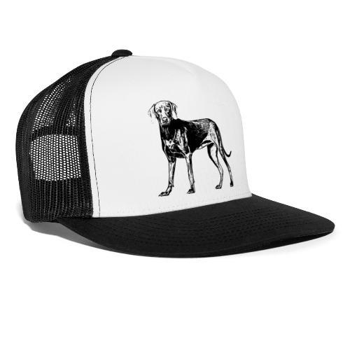 Weimaraner / Hunde Design Geschenkidee - Trucker Cap