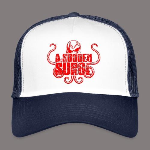 ASS_Logo_red_final - Trucker Cap