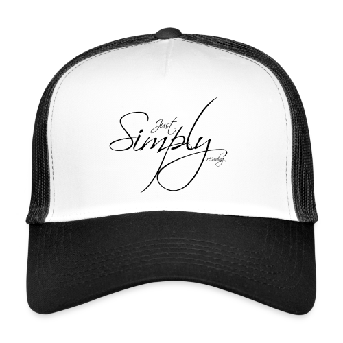 Just Simply Accessory Black - Trucker Cap