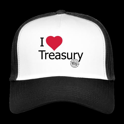 I LOVE TREASURY - Trucker Cap