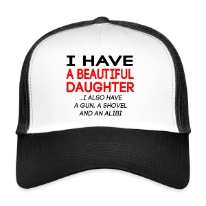 beautiful_daughter - Trucker Cap