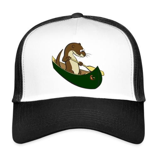 greencanoewithsticker - Trucker Cap