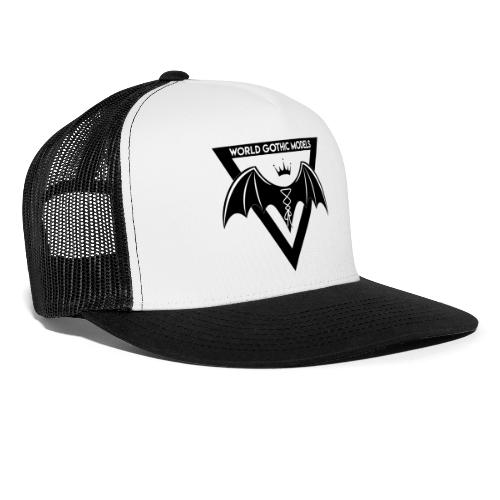 World Gothic Models Official Logo Design - Trucker Cap