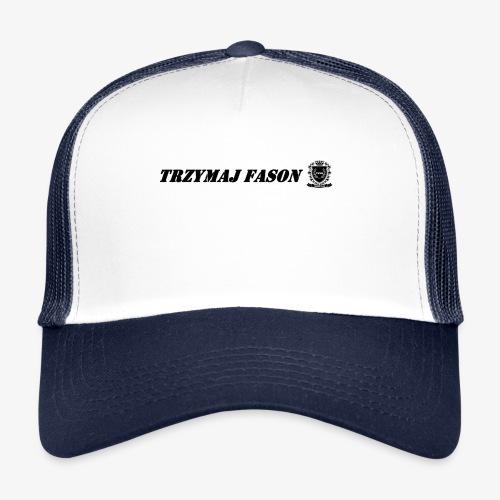 logo napis2 - Trucker Cap