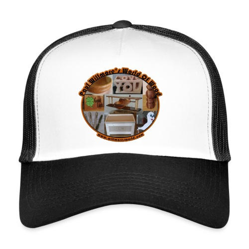 Large logo new - Trucker Cap